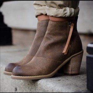 Dolce Vita | Rustic Leather Joust Booties